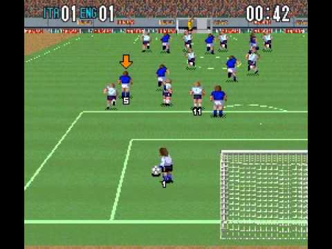 SNES Super Formation Soccer II