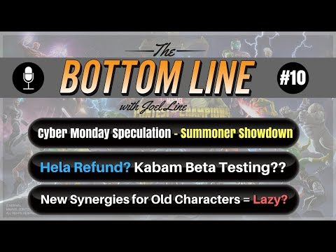 Bugs = the New Norm? Hela Refund? New Synergies + Old Characters = Lazy?   The Bottom Line #10