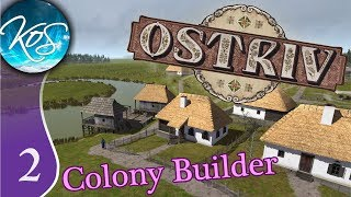 Ostriv Ep 2: SUMMER HARVEST - Alpha 2! City Builder - Let's Play, Gameplay