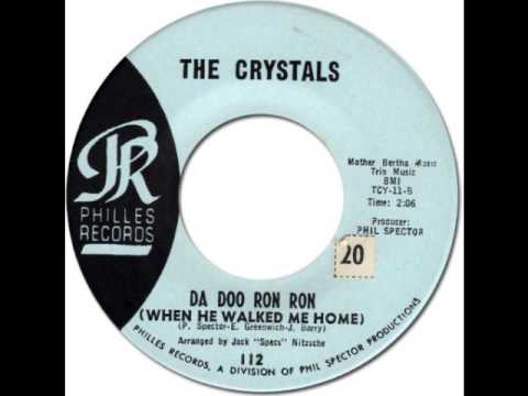THE CRYSTALS Da Doo Ron Ron When He Walked Me Home Philles 112 1963
