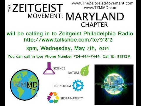 #TZM #Maryland Chapter on #Zeitgeist #Philadelphia Radio