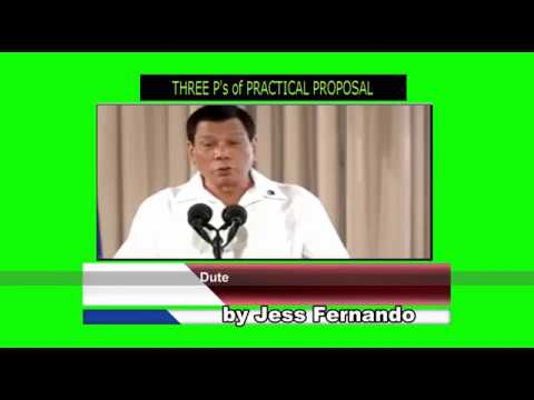 Three P's For Practical Proposal