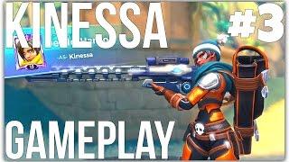 [Paladins] Kinessa Gameplay #3 (Full Game)