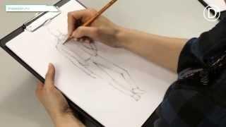 D'illustration. Урок №4. Опора на одну ногу. Мужская одежда.