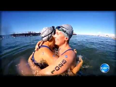 Network TEN 2016 Karma Resort Rottnest Channel Swim Highlights Video
