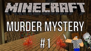Minecraft - Murder Mystery   NOVÁ MINIHRA   [FullHD/60.FPS] #1
