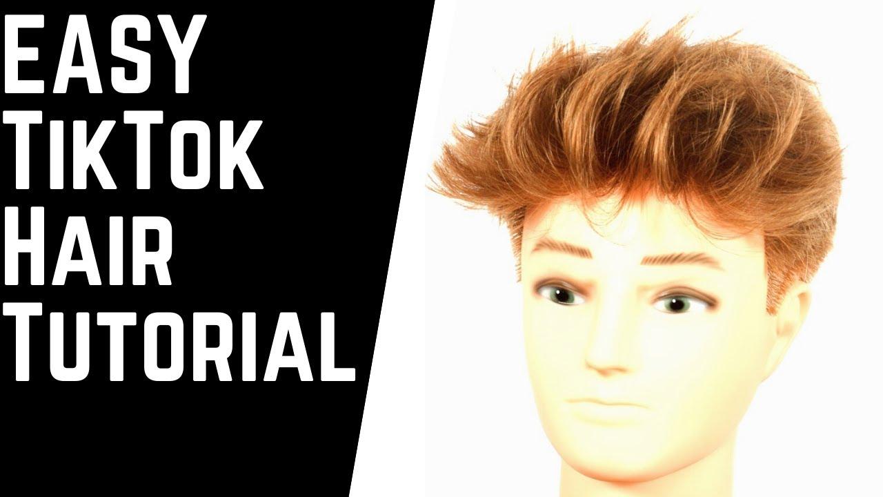 Easy Tiktok Hairstyle Tutorial Thesalonguy Youtube