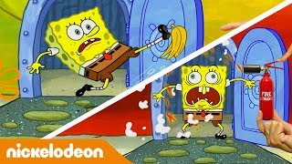 Губка Боб Квадратные Штаны | Губка Боб переезжает | Nickelodeon Россия