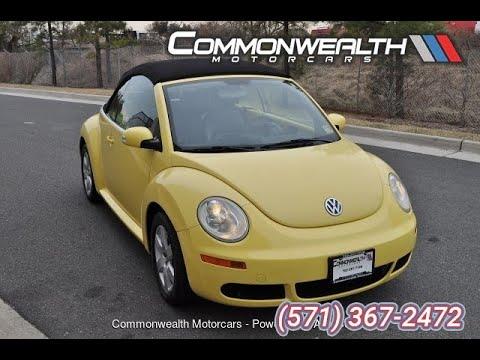 2007 Volkswagen New Beetle Convertible 2dr Auto (Chantilly, Virginia)