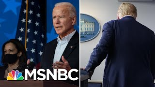 Biden Closes In On 270 As Trump Sows Chaos With Election Attacks | The 11th Hour | MSNBC