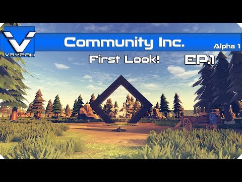 Community Inc - First Look! | Let's Play / Gameplay | Part 1
