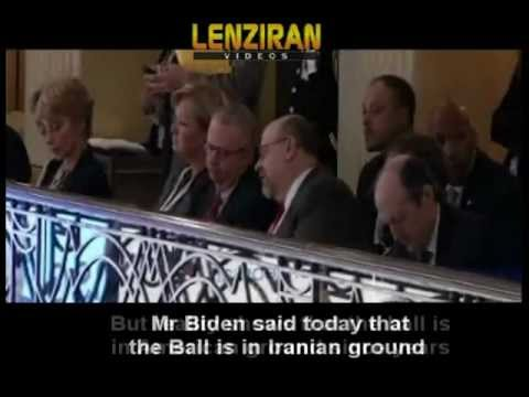 Iran react to readiness for direct talks raised by US  vice president Joe Biden in Munich Conference