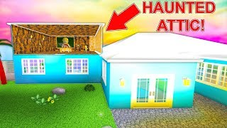 I Bought A Mansion With A Secret Haunted Attic Roblox MP3
