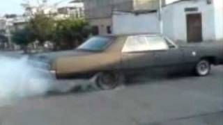 1967 Plymouth Fury III Burnout part 2
