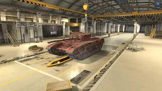 World Of Tanks Blitz Game Play (Black Prince and LAGS) v4.4.0