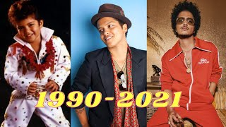The Evolution of Bruno Mars (1990-2021)