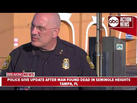 Seminole Heights Shooting: Tampa police identify victim, likely related to recent Tampa killings