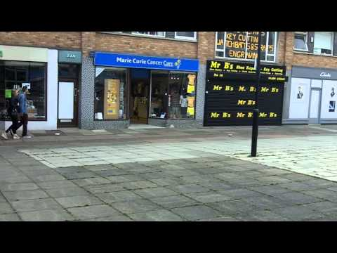 Town Centre, Huntingdon, Cambridgeshire.