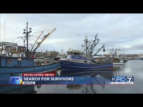 VIDEO: Coast Guard Searching For 5 People After Crab Boat Sinks In Alaska
