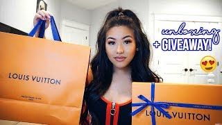 LOUIS VUITTON UNBOXING + GIVEAWAY!! (OPEN)