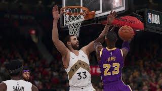 Los Angeles Lakers vs Toronto Raptors NBA LIVE Full Game Highlights