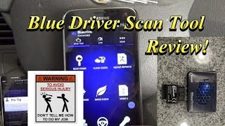 Blue Driver App Smartphone Scanner Tool Review