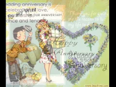 Happy anniversary greetings carde cardegreetingswishescard youtube m4hsunfo