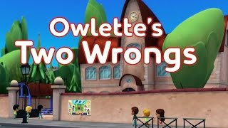 PJ Masks English Episode 16 | Owlette's Two Wrongs | Full HD #KidsCartoonTv