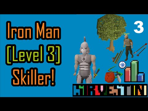 OSRS | Ironman Skiller | Ep. 3 - How much wood!?
