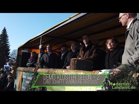 Kundgebung In Kloster Seeon 06.01.2020 - Rede Von Den CSU Abgeordneten / Söder / Dobrindt / Schmidt