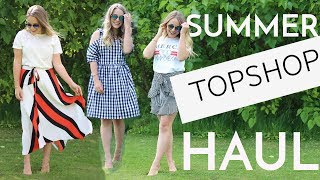 Summer TOPSHOP Try-On Haul! | Fleur De Force
