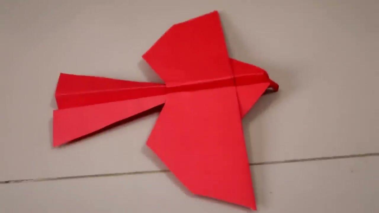 Easy Way New Flying Paper Eagle New Oragami 2019 Youtube Origami Eagle Origami Easy Origami Crafts