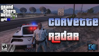 gta 5 police mod lspdfr corvette model 2015 radar patrol highway