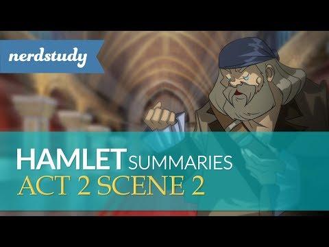 Hamlet Summary (Act 2 Scene 2) - Nerdstudy