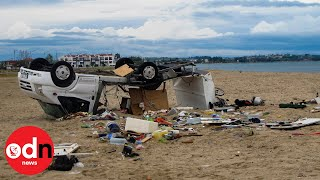 Six People Killed as Violent Storms Hit Northern Greece
