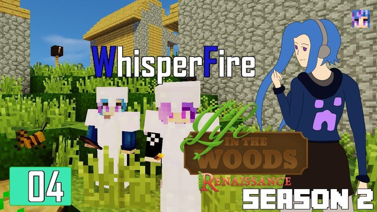 Minecraft: Life in the Woods Renaissance - Ep 4 - Village Raiding