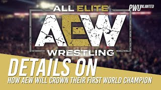 Detail Revealed On How AEW Will Crown Their First World Champion