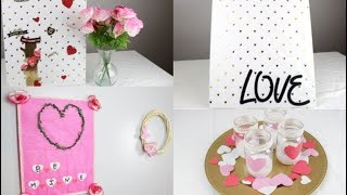 EASY CANVAS WALL HANGING IDEAS FOR VALENTINE'S DAY | DOLLAR TREE | SHANETTADIYLIFE