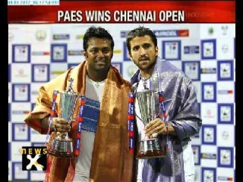 Paes, Janko win Chennai Open