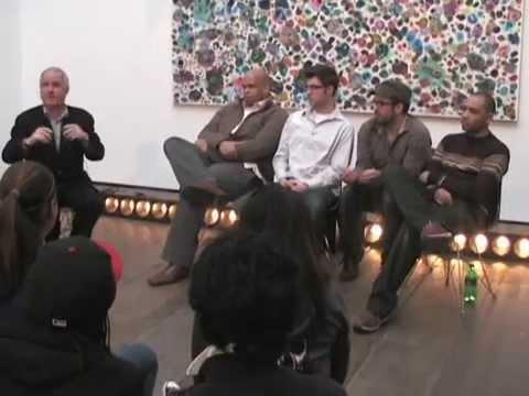 Bronx Museum Teen Council Interviews Tim Rollins & KOS 1