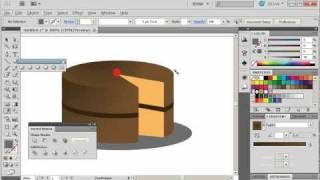 Adobe Illustrator CS5 Tutorial 20 | Cake