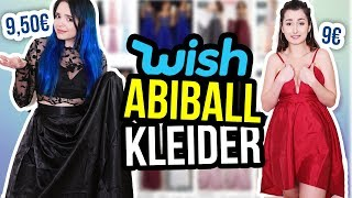 Wir testen BILLIGE ABIBALLKLEIDER von WISH! 😱💸 | unlikely ❤