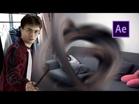 "AE教程 | After Effects制作《哈利波特》电影中的""移形幻影""瞬移特效"