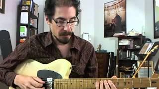 50 Jazz Blues Licks - #34 Grant Green - Guitar Lesson - David Hamburger