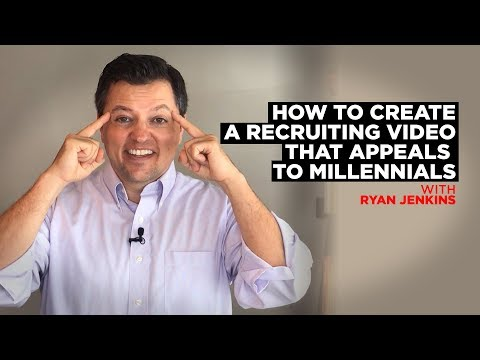 How to Create a Recruiting Video that Appeals to Millennials