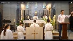 REVOIR la messe de l'Ascension depuis l'Église de Saint-Antoine des XV-XX à Paris