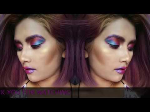 color photography makeup by modern artist ft MUA ZUNU SHRESTHA