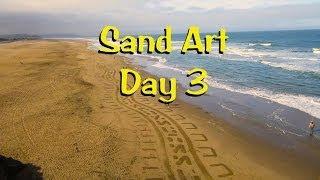 Ocean Beach Sand Art 3 - May 3, 2014