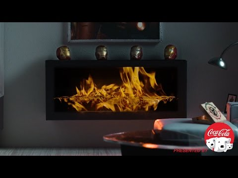 Up Close with Iron Man Fireside Video