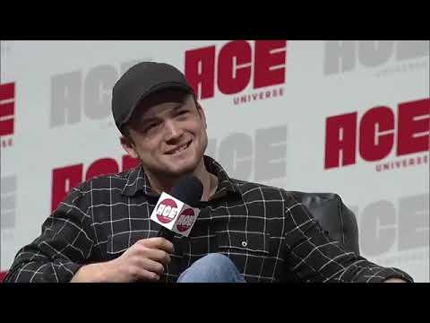 Taron Egerton en la ACE Comic Con de Arizona (13/01/19)